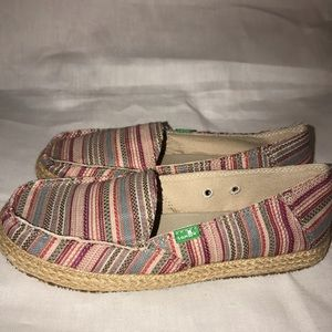 Sanuk Women's Shoes - Funky Fiona Size 7